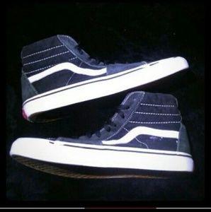 Vans High-Tops Men's Drk Gray/Black/White sz 9.5